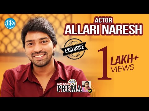 Actor Allari Naresh Exclusive Interview || Dialogue With Prema #63 || Celebration Of Life #477