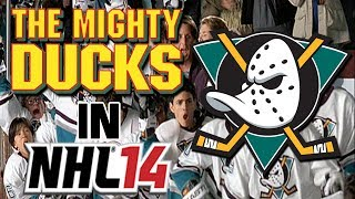 The Mighty Ducks In NHL 14