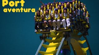 5 Attractions - Port Aventura HD