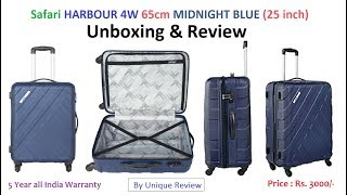 Safari HARBOUR 4W 65 MIDNIGHT BLUE | Unboxing & Review