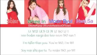 Video MAMAMOO(마마무)-Pride Of 1cm/Taller Than You  - Color Coded Lyrics + Han|Rom|Eng Sub|Sub Español download MP3, 3GP, MP4, WEBM, AVI, FLV Agustus 2018