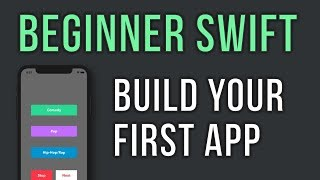 Swift - Build Your First App in 30 minutes - For Beginners - Music Player Video