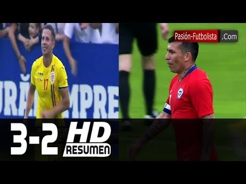 Rumania vs Chile 3-2 RESUMEN GOLES Amistoso Internacional [Friendly-Match] 2018