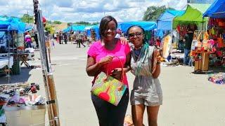 Zambia/African Sunday Market Vlog
