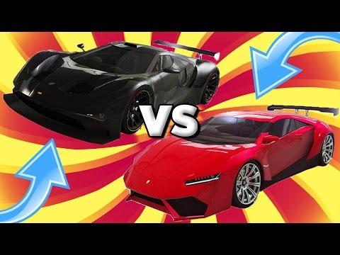 GTA 5 FASTEST DLC CAR!!! NEW SUPER CARS VS OLD DLC CARS (GTA 5 ONLINE DLC UPDATE)