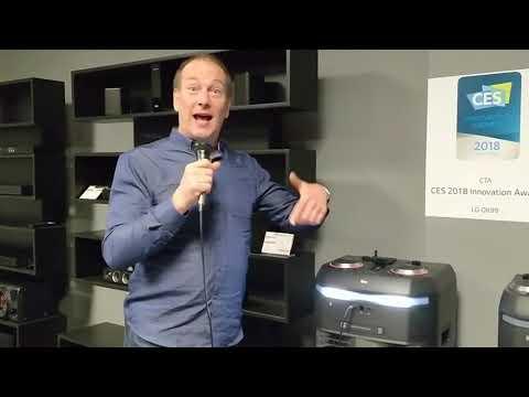 Party Accelerator - machine à karaoke de LG