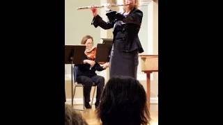 Telemann Suite in A minor, Barbara Siesel