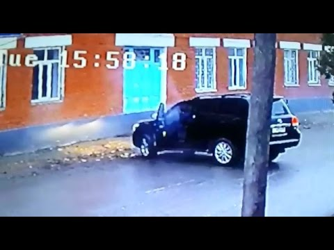 Murder of Imam in Khasavyurt caught on surveillance camera