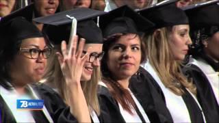 Education : l'université de Versailles Saint-Quentin s'offre une remise de prix à l'américaine
