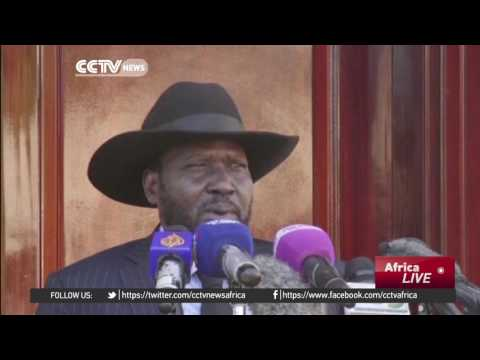 President Salva Kiir tours Juba to quash rumours of his death