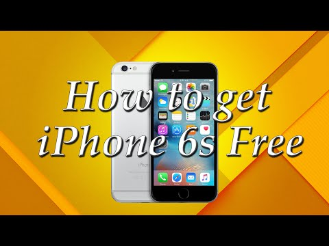 How to get the new iPhone 6s Free!!