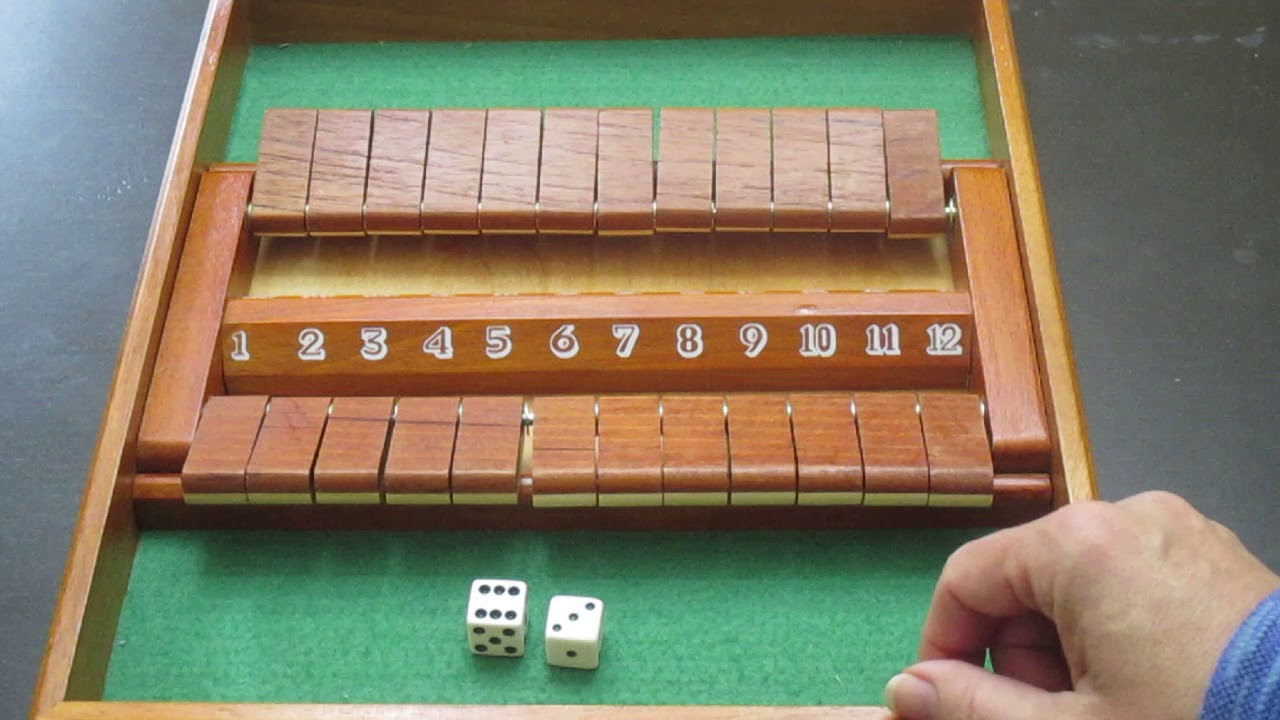 Shut The Box Spiel