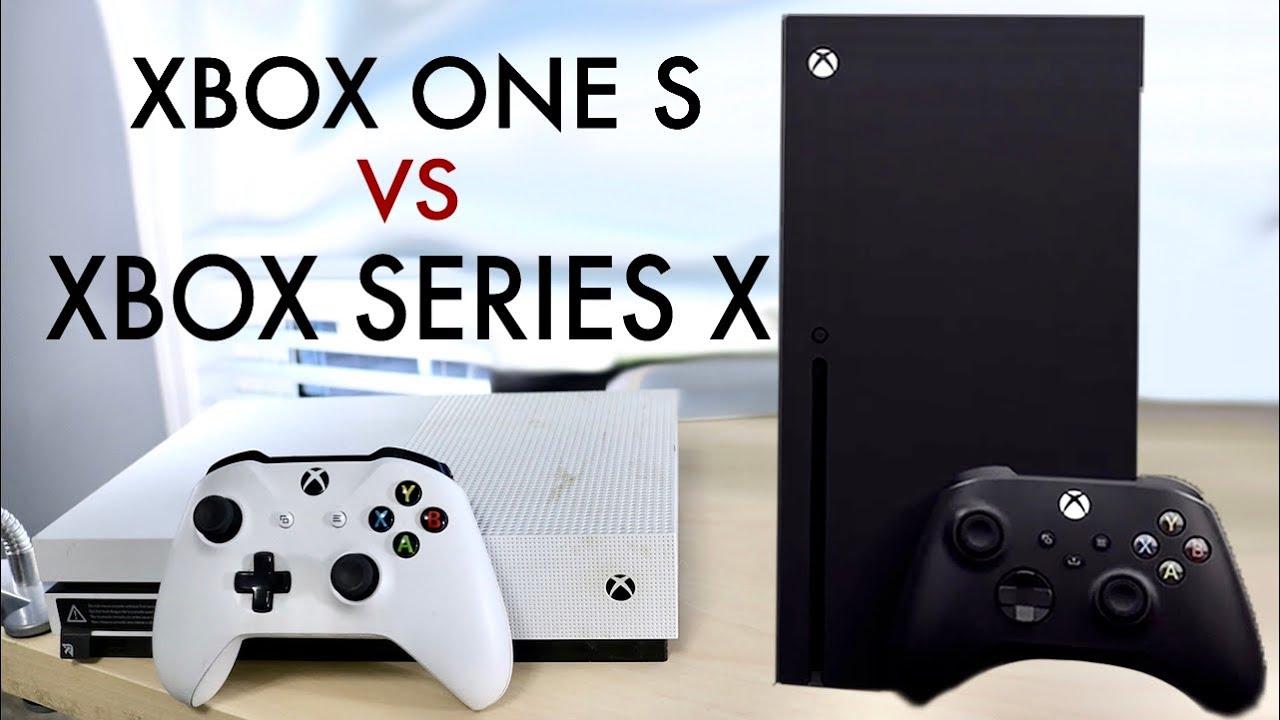 Xbox Series X Vs Xbox One S Quick Comparison Youtube