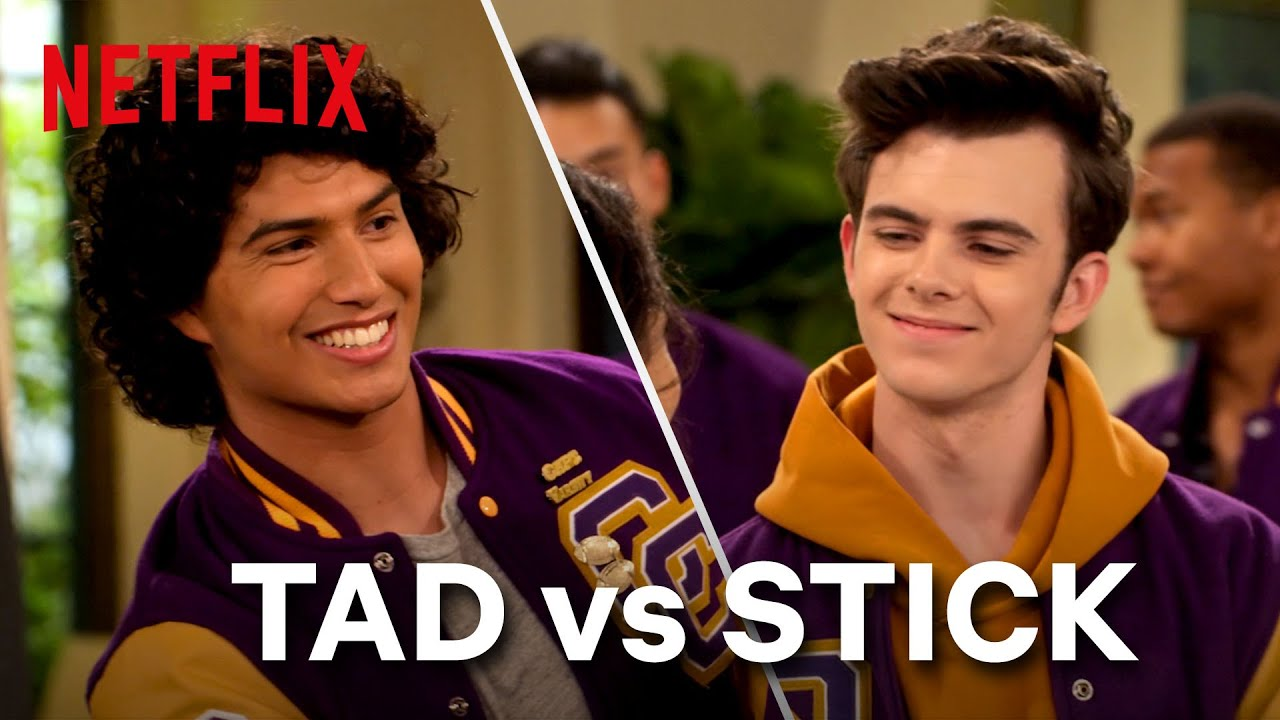 Boy Crush Battle: Tad or Stick? 😘 Ashley Garcia | Netflix Futures