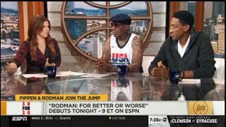 The Jump 9/10/2019 | [BREAKING NEWS] Scottie Pippen & Dennis Rodman join the jump