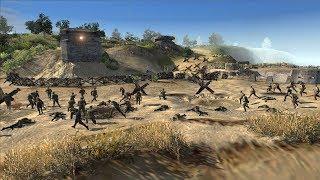 Omaha Beach Landing, Normandy France 1944 - D-Day | Men of War: Assault Squad 2 Gameplay