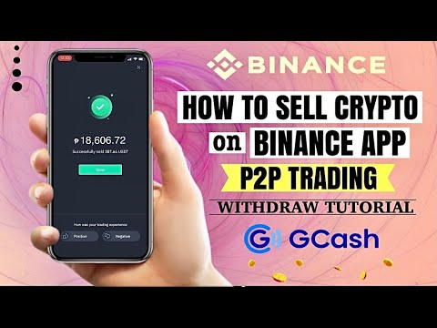 How to SELL Crypto on BINANCE P2P Trading | Gcash Withdrawal | Tutorial