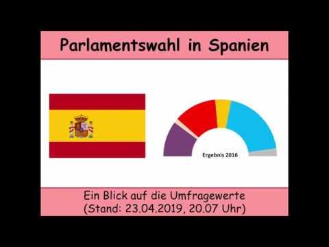 Parlamentswahl in Spanien 2019: Ein letzter Blick auf die Umfragen vor der Wahl (PSOE   PP)