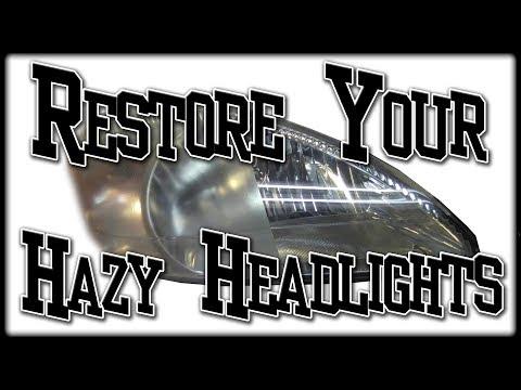 Restore Yellow Hazy Headlights The Right Way 3M Headlight Restoration Kit