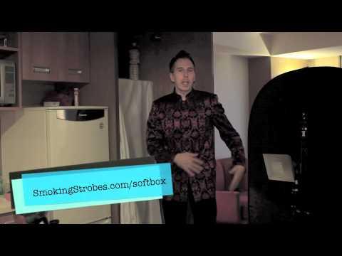 DIY photography equipment: Shower Curtain Softbox Part 2