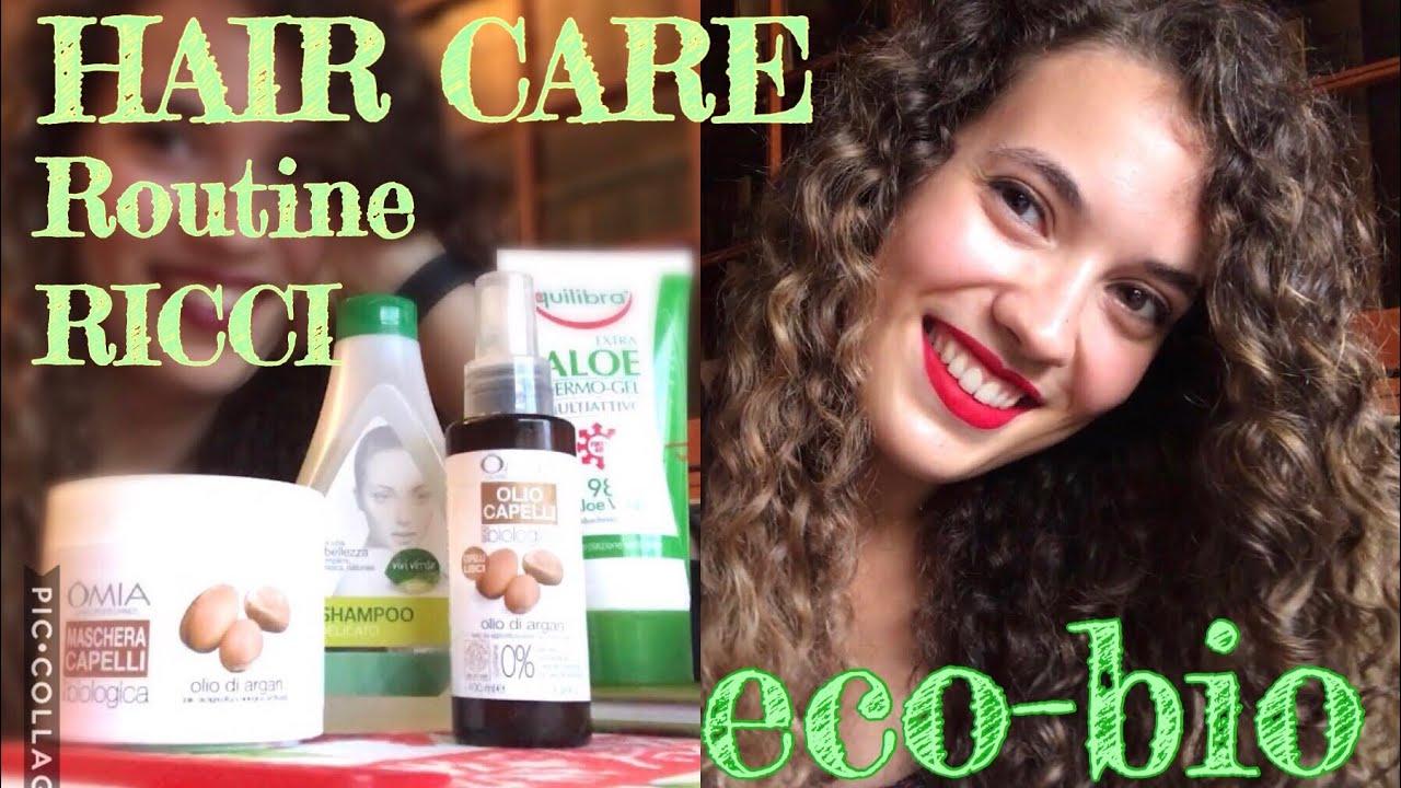 Hair Care Routine Eco Bio Per Capelli Ricci