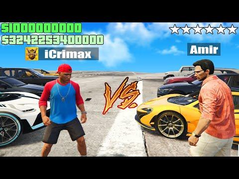 iCrimax VS Amir AUTORENNEN-CHALLENGE  in GTA 5 RP