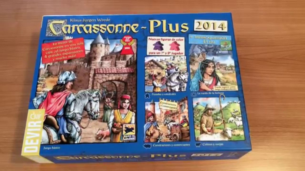 Resultado de imagen de carcassonne plus