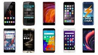 ТОП 10 лучших смартфонов 2017. Недорогие китайские смартфоны с Алиэкспресс.