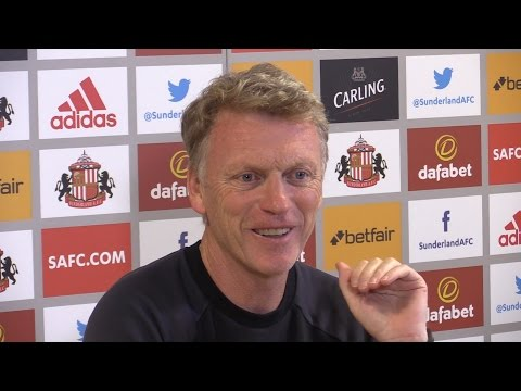 David Moyes Full Pre-match Press Conference - Sunderland v Crystal Palace
