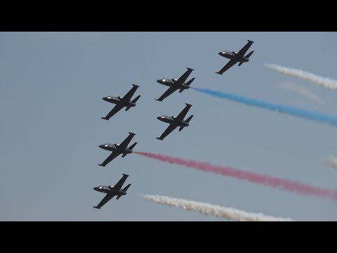 Patriots Jet Team Sunday Demo .. California Capital Airshow 2017 (4K)