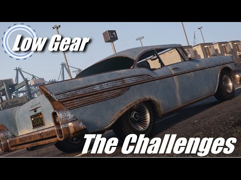 Low Gear- The Challenges- Episode 3- Rusty Vehicles (GTA V- Top Gear)
