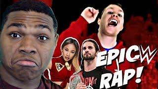 EPIC WWE RAP (WWE PUN RAP | Dan Bull) REACTION!