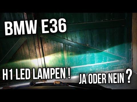 bmw e36 h1 led lampen leuchtmittel ja oder nein youtube. Black Bedroom Furniture Sets. Home Design Ideas