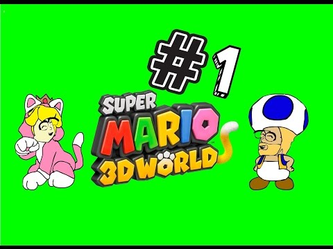 Super Mario 3D World - everybody is a plumber !
