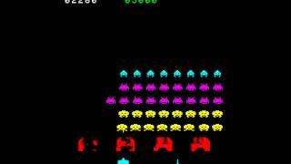 Arcade Game: Space Invaders Part II (1979 Taito)