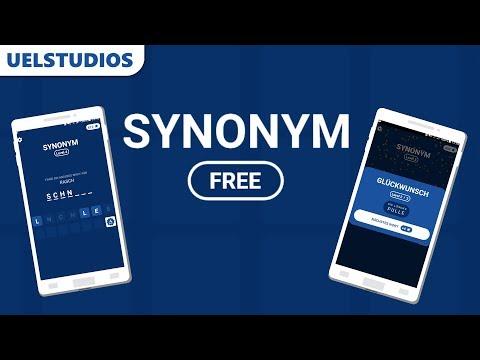 Synonym - Ein anderes Wort für