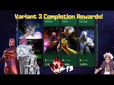 Variant 3 Completion Rewards Opening! Domadeus Gaming - Marvel Contest of Champions  