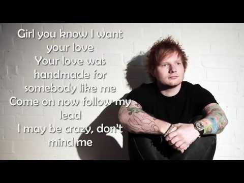 ED SHERAN - SHAPE OF YOU [Official Lyrics Video]