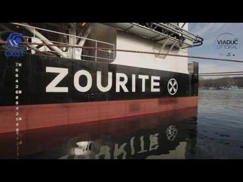 Construction et visite de la barge Zourite