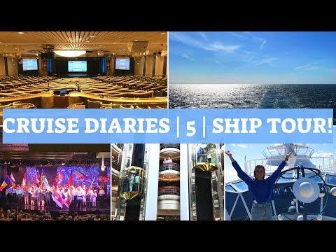 CRUISE DIARIES VLOG 5 | Marella Discovery Cruise Ship Tour 2018!