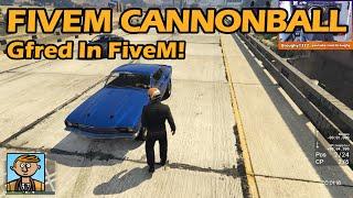 Gfred In FiveM! - GTA FiveM Racing Live #17