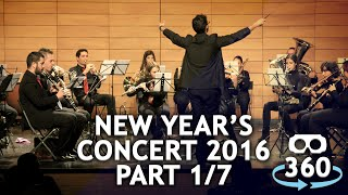 Concert 360º #VirtualReality Classical Music New Year's Concert Part 01 - 07 #360Video #VR