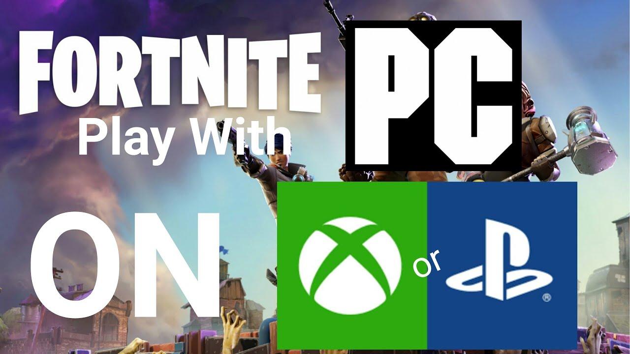Fortnite Crossplay PC PS4 XBOX EASY TUTORIAL Doovi