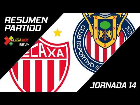 Resumen   Necaxa 1 - 5 Guadalajara   eLiga MX - Clausura 2020 - Jornada 14   LIGA BBVA MX