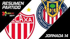 Resumen | Necaxa 1 - 5 Guadalajara | eLiga MX - Clausura 2020 - Jornada 14 | LIGA BBVA MX