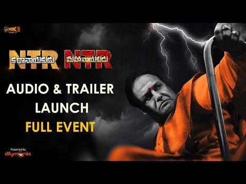 NTR Audio Launch Full Event - NTR Kathanayakudu, NTR Mahanayakudu, Nandamuri Balakrishna, Krish