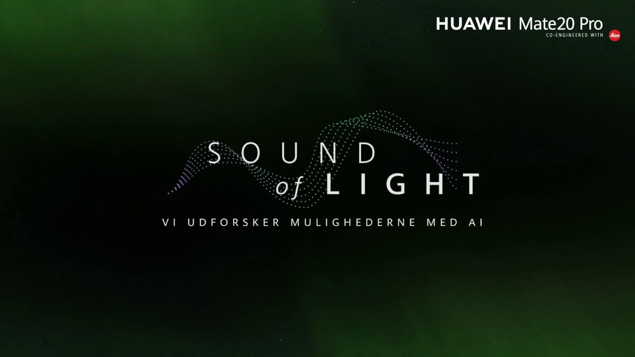 Huawei Præsenterer: Transformation af Lys til Lyd