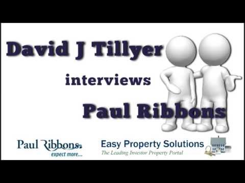 Property investor Paul Ribbons talks about property market today in UK