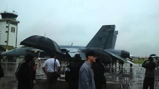NAVY F-18 SUPER HORNET em Pirassununga