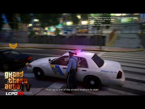 GRAND THEFT AUTO IV - LCPDFR - 1.0D - EPiSODE 34 - NEW JERSEY STATE POLICE